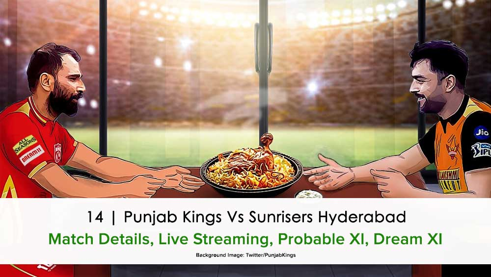 IPL 2021 Punjab Kings vs Sunrisers Hyderabad
