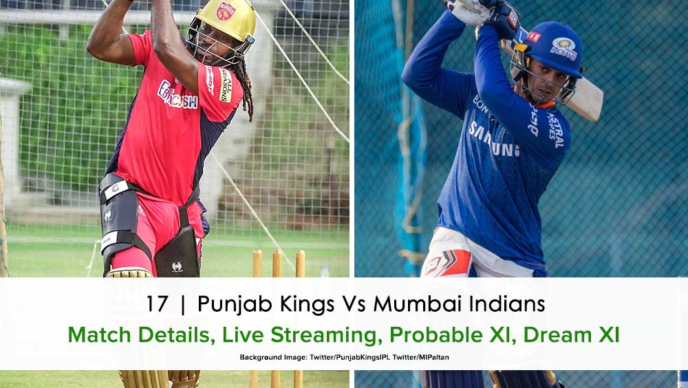 IPL 2021 Punjab Kings vs Mumbai Indians