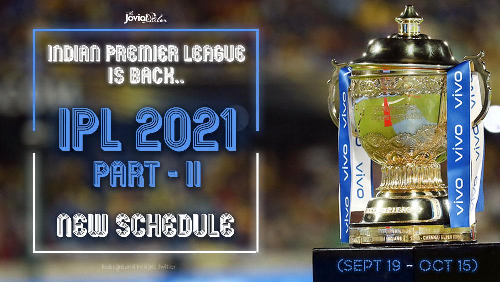 New IPL 2021 Schedule Download
