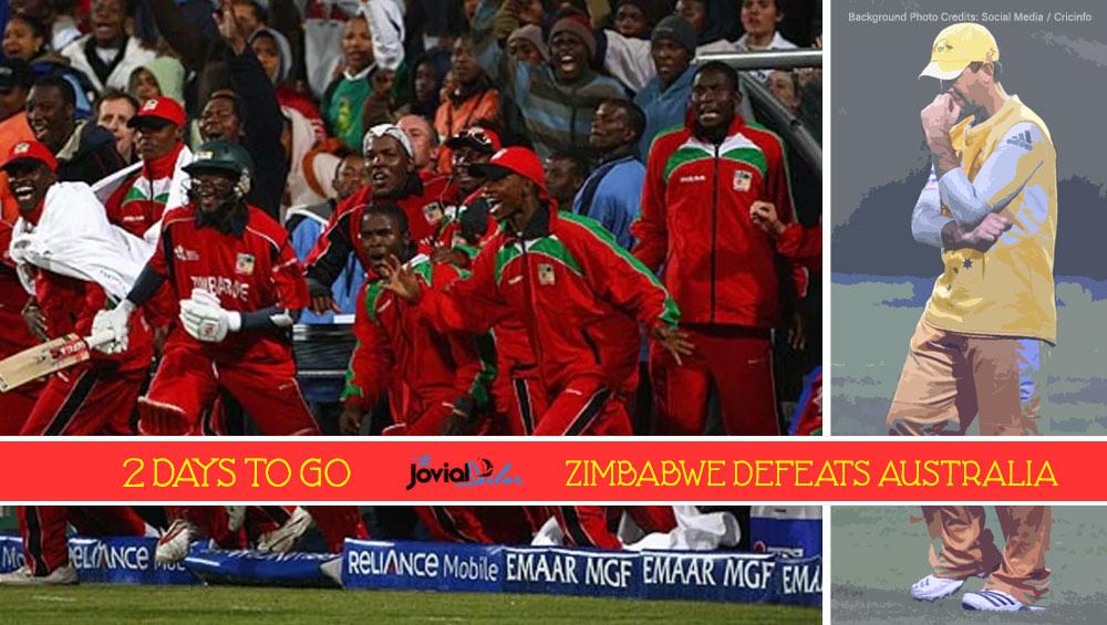 Zimbabwe Defeats Australia at ICC World Twenty20