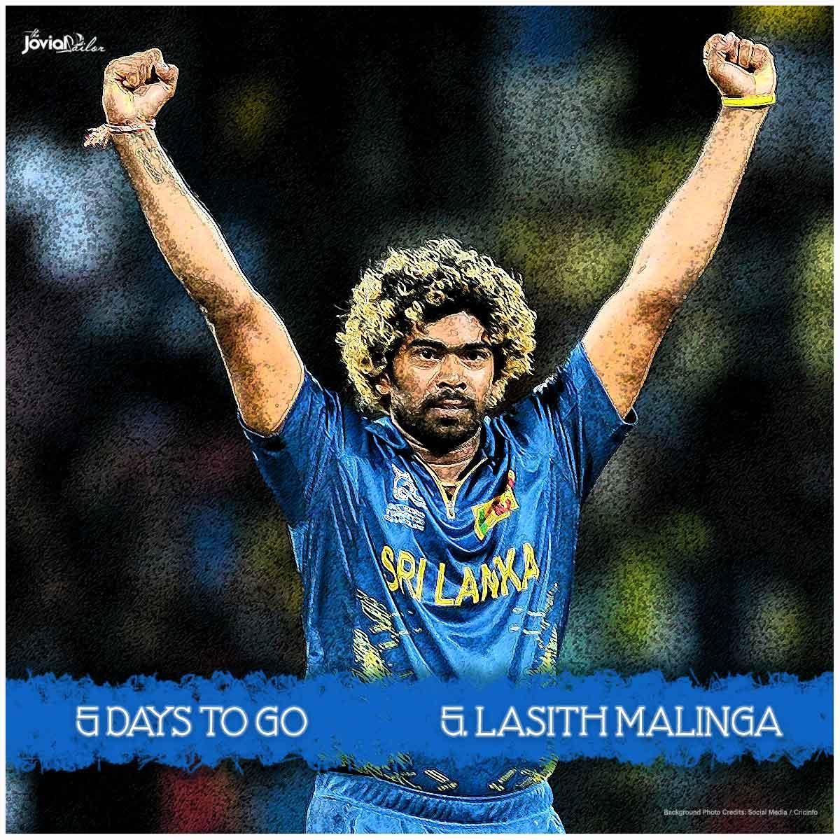 Lasith Malinga Picks 5 Wickets Against England at World Twenty20 2012