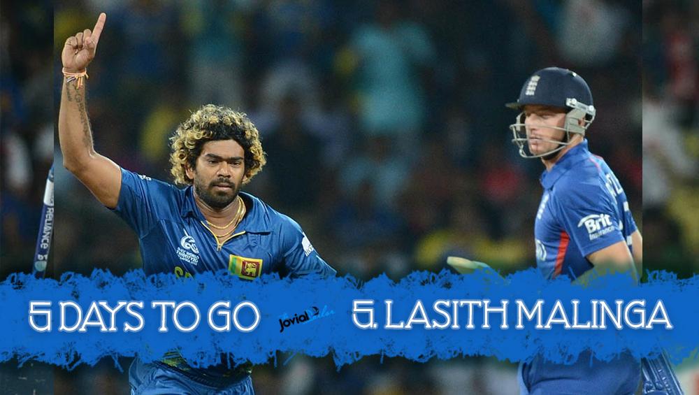 Lasith Malinga Picks 5 Wickets Against England World Twenty20 2012